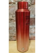 Starbucks 2019 Holiday Red Rose Gold Ombre Vacuum Insulated Water Bottle... - $46.66