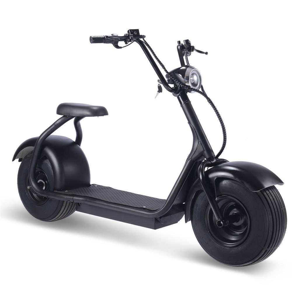 MotoTec Fat Tire 2000 Watt Electric Scooter 60v 18ah Lithium Ion Lithium Battery
