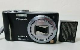 Panasonic LUMIX DMC-ZS8 14.1MP Digital Camera - Black *Works lens cover issue* - $29.69