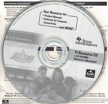 Texas Instruments TI Resource CD v 2.8 Win Mac Product Manuals Computer ... - $5.99