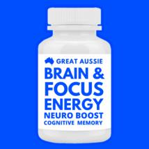 Brain Focus Mental Energy Neuro Multivitamin Memory Boost Mens Womens Co... - $39.00