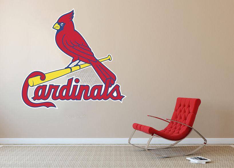 Cardinals MLB Baseball Team Wall Decal Decor For Home Laptop Sports