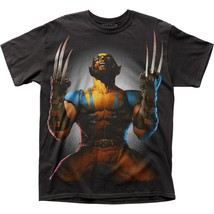 Authentic Marvel Comic Wolverine Claws Drawn Big Subway Print T-shirt S ... - $441,81 MXN+