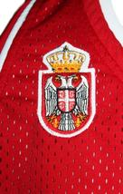 Nemanja Bjelica #8 Serbia Custom Basketball Jersey New Sewn Red Any Size image 4