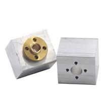 T8 Aluminum Screw Conversion Nut Seat for 3D Printer Lead Screw Housing ... - $10.99
