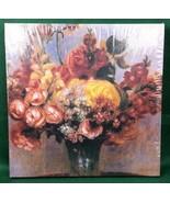Fleurs Dans Un Vase 500 Piece Jigsaw Puzzle Pierre Renoir Laurel Ink 913... - $19.38