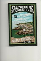 2019 World Jamboree Sub Camp F2 Fortress of Suomenlinna patch - $12.38