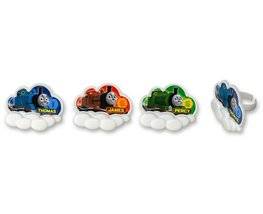 CakePicke cake cupcake topper Thomas & Friends Steam Team Cupcake Rings ... - $6.88