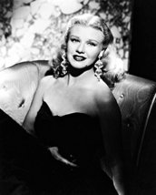 Ginger Rogers B&W Striking Glamour Shot 16x20 Canvas Giclee - $69.99