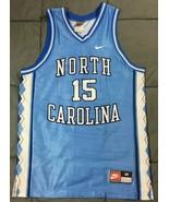 VTG Signed Vince Carter UNC Tar Heels Nike Team Sports Basketball Jersey... - $120.75