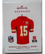 Hallmark  Patrick Mahomes II Jersey  Kansas City Chiefs  Keepsake Orname... - $19.79