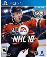 NHL 18 - PlayStation 4 [video game] - $34.18