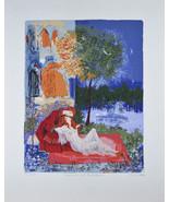 """"""" Romeo & Juliet Douce Farewell """" par Russel Barrer Lithographie sur Papier - $174.36"""