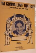 Vintage I'm Gonna Love That Guy Sheet Music Frances Ash 1945 - $3.95