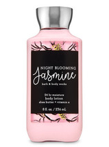 Bath & Body Works Night Blooming Jasmine 24-Hour Moisture Shea Body Lotion - $12.47
