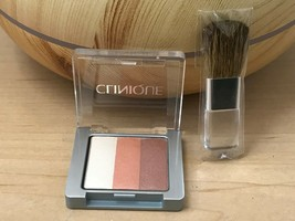 New Clinique Shimmering Stripes Powder Blusher in 01 PEONY & mini Blush ... - $15.83