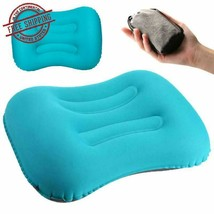 Camping Pillow Inflatable Travel Pillows Compressible Ultralight Portabl... - $10.78