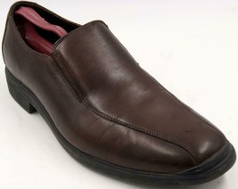 Cole Haan Air Stylar 2 Gore Slip On Dress Loafer Brown Men's Shoes Sz 11... - $51.29