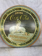 VINTAGE 1976 COCA COLA 75TH ANNIVERSARY METAL COMMEMORATIVE SERVING TRAY... - $23.75