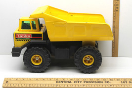 Tonka Mighty Diesel Original 1993 Yellow Dump Truck Vintage Construction Toy     - $39.73