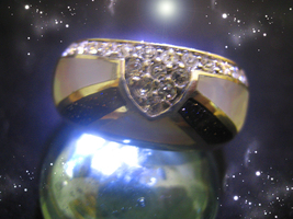 HAUNTED RING ALEXANDRIA'S VOICE INDICATES WHERE LOVE IS NOW HIGHEST LIGH... - $10,937.77