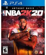 Brand new basket ball game NBA 2K20 PlayStation 4 free shipping - $39.99