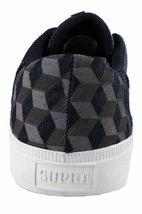 Supra Men's Olive Drab/Black/White Isometric 3D Cube Pistol Low Top Sneakers NIB image 3