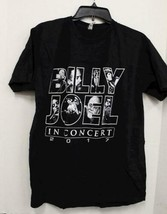 Billy Joel Men's Shirt Stadium Tour 2017 Concert Shirt Black Size L image 1