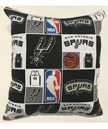 Spurs Pillow San Antonio Pillow California NBA Handmade in USA - $9.97