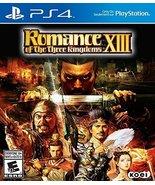 Romance of the Three Kingdoms XIII - PlayStation 4 by Tecmo Koei [video ... - $44.09