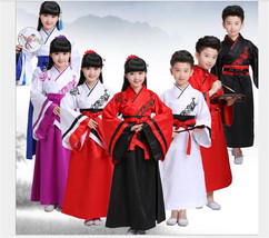 Retro Kids Hanfu Princess Dramaturgic Show Costume Robe Cosplay Child Dress - $30.74