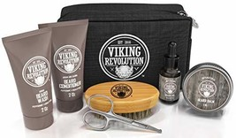 Beard Care Kit for Men Gift - Beard Grooming Kit Contains Travel Size Beard Oil,