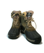 Magellan Outdoors Men's Winter Snow Boots Thinsulate Pac Suede Leather Size 13 - $47.34