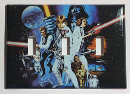 Star Wars Characters Old Poster Light Switch Outlet wall Cover Plate Home decor image 11