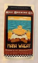 Mana Wheat Can Sticker Maui Brewing Company Craft Beer Hawaii Mancave - $3.99