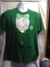 Urban Pipeline Green Irish Tuxedo Tshirt T Shirt Tee Mens Sz Large L - $12.19