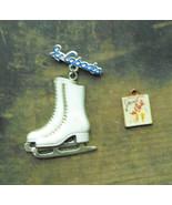 Ice Skating Lot Ice Capades Pin &  Ladies Home Journal Charm Vintage - $16.99