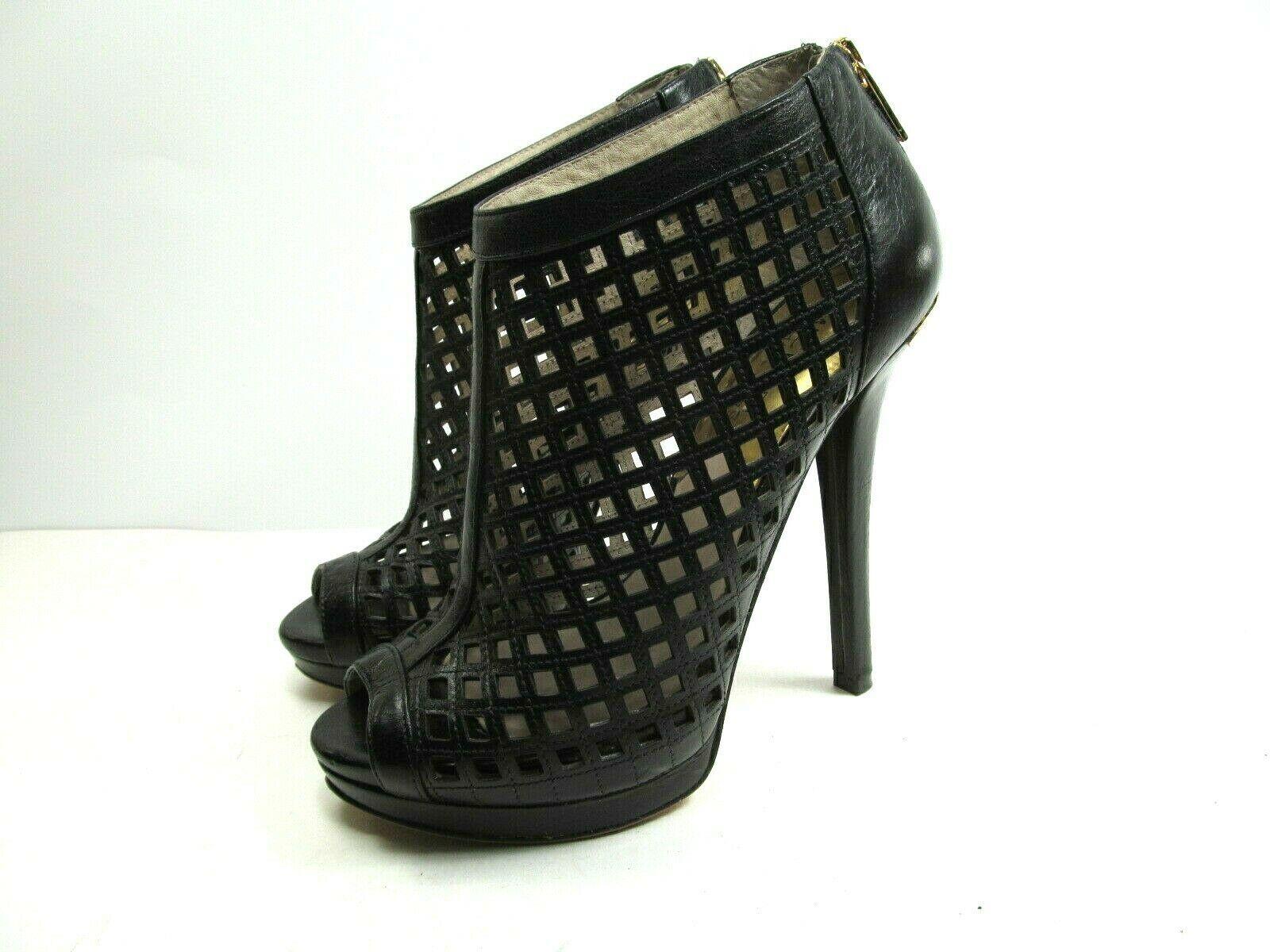 Michael Kors Womens Peep Toe Stilettos Platforms With Cutouts Size US 6 M image 5