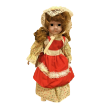 Authentic Heritage Collector's Doll Bisque Porcelain Handcrafted Handpai... - $33.66
