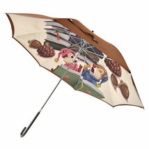 Disney Store Chip & Dale Jumping Umbrella Polyester Lead Book - $74.25