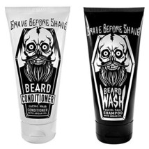 GRAVE BEFORE SHAVETM Beard Wash & Conditioner Pack