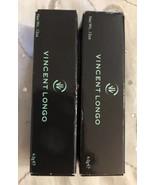 Lot (2) Vincent Longo Silk Velour Mulberry & Demi-Matte Gioelle Berry Li... - $19.95