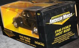 1940 Ford Coupe Stock Rod - 1:18 Scale with Box AA20-NC8153 Vintage Collecti image 3