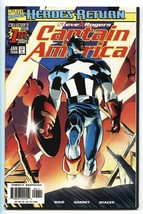 Captain America #1-1998 First issue-Comic Book-Marvel NM- - $25.22