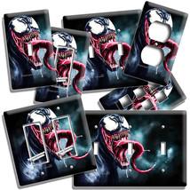 Venom Comics Dark Super Villain Light Switch Outlet Wall Plate Room Man Cave Art - $9.99+