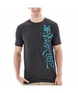 Zoo York Calligrapher City Short Sleeve Size M New Black Tri Blend - $9.99