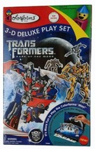 Colorforms Transformers Dark of the Moon 3-D Deluxe Play Set 2011 Top 10... - $23.74