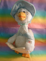 Cuddle Barn Mother Goose Talking Animated Sweetly Reads 7 Nursery Rhymes... - $24.52