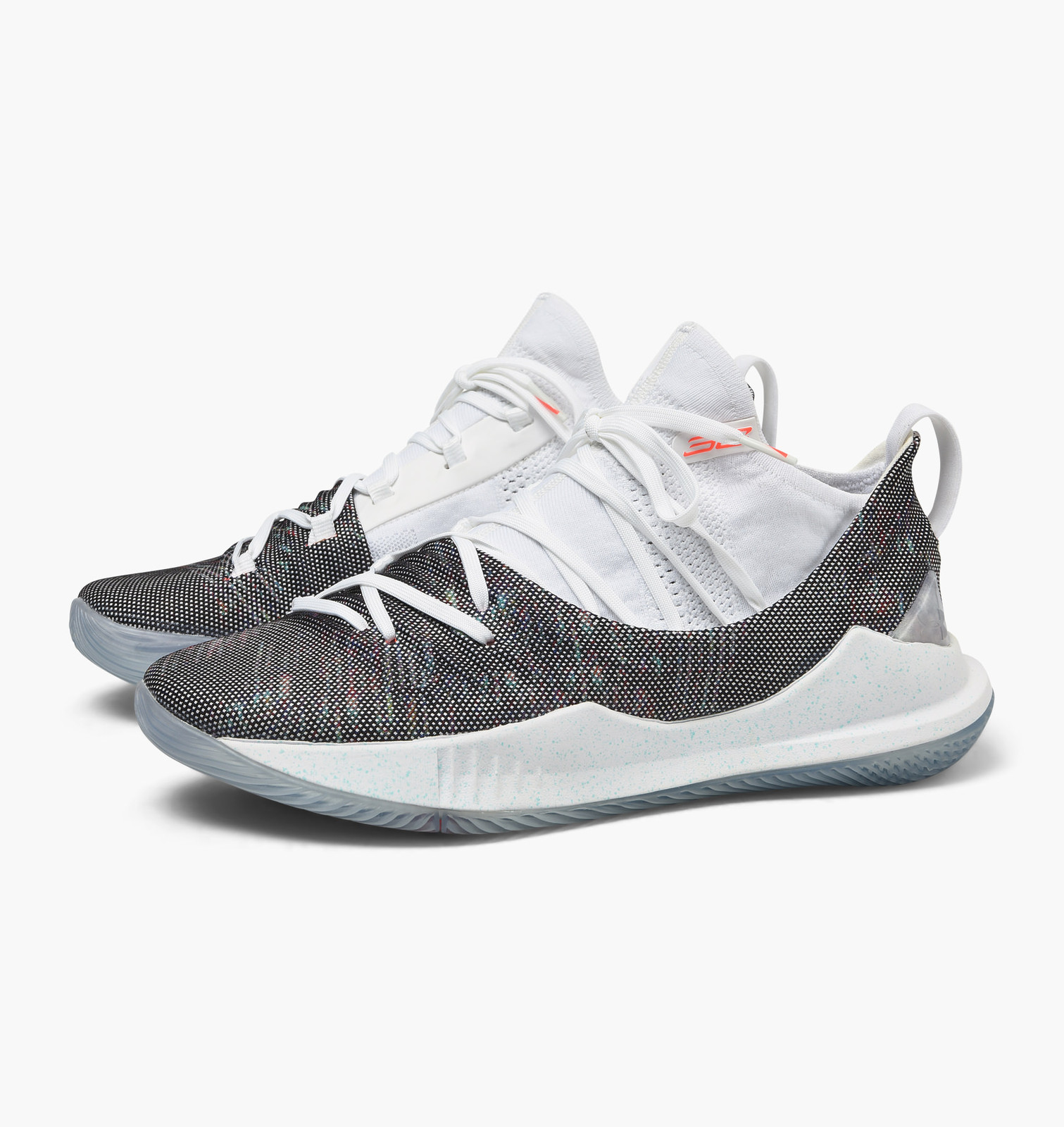c724fd155bf5 Under Armour UA SC Curry V 5 Welcome Home (White  Neon Coral) Men