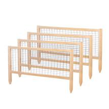 Garden Fence Durable Wood Cedar Frame Weather Resistant Outdoor Pannel P... - €80,59 EUR